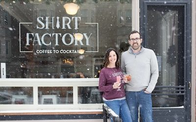 5 Business Tips from Alix Gilman & Scott Robinson of Shirt Factory Medina